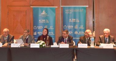 وزيرة الصناعة: تعاون بين الحكومة ومجتمع الأعمال لوضع رؤية للتعامل مع تحديات المستثمرين