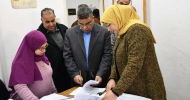 رئيس جامعة قناة السويس: اعلان نتائج امتحانات الفصل الدراسى الأول