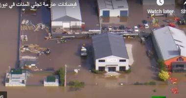 الطبيعة تعلن عن نفسها.. فيضانات عارمة تجلى المئات فى نيوزيلندا