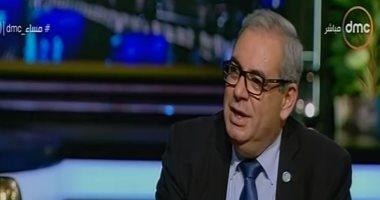 الدكتور جون جبور ممثل منظمة الصحة العالمية فى مصر