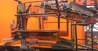 شاهد أحدث ماكينة فى العالم لجمع محاصيل الرمان والتفاح والبرتقال