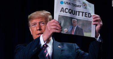 الإندبندنت تصف إقالة ترامب لموظفين شهدوا ضده فى محاكمة عزله بالانتقام السريع