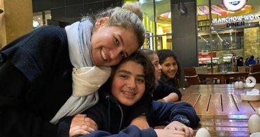 """هنا شيحة تحتفل بعيد ميلاد ابنها """"مالك"""": ربنا يخليك ليا .. بحبك"""