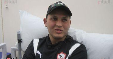 صورة .. سعد محمد في فندق الزمالك بالإمارات استعدادا لمباراة السوبر