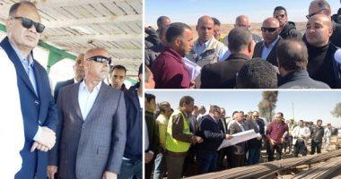 وزير النقل يشدد على الانتهاء من محور ديروط قبل 30 يونيو.. ويتوعد المقصرين