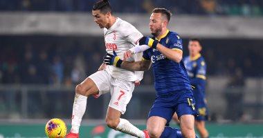 يوفنتوس يتلقى هزيمة مفاجئة أمام هيلاس فيرونا بالدوري الإيطالي.. فيديو