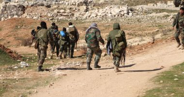 المرصد السورى: 44 قتيلا فى معارك بين الجيش السورى وإرهابيى داعش