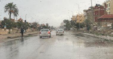 أمطار غزيرة على مناطق متفرقة بالمنوفية وغرفة عمليات لمتابعة الأحوال الجوية