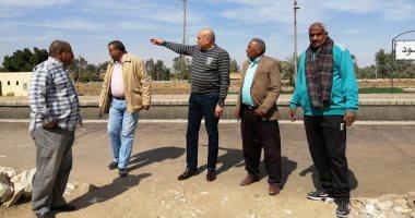 صور.. رئيس مدينة الطود: تطوير رصيف محطة المدينة لخدمة قطارات الشباب