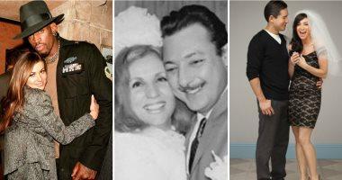 يوم الزواج العالمى.. اعرف أقصر زيجات المشاهير من الشرق للغرب