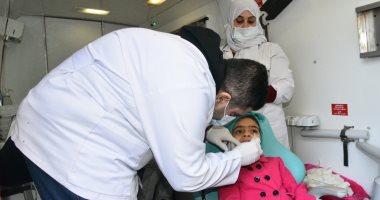 الصحة: تقديم الخدمة لـ3638 مواطنا فى أول يوم للقافلة الطبية بعزبة الهجانة