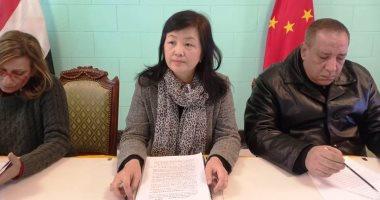 صور.. قنصل الصين بالإسكندرية: معدل وفيات كورونا 2% وإجراءات حاسمة للمواجهة