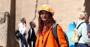 فيكتوريا أبريل فى زيارتها الثالثة لمصر: معجبة بالحضارة المصرية العريقة