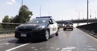 قرار تأديبي لشرطي تعدى على سائق يسير عكس الاتجاه بالغربية