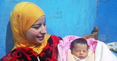 انفراد.. أول صورة للطفلة ياسمين المولودة رقم 100 مليون بمصر