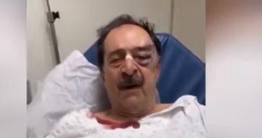 نائب لبنانى بعد الاعتداء عليه من المحتجين: أنا بحالة جيدة.. فيديو