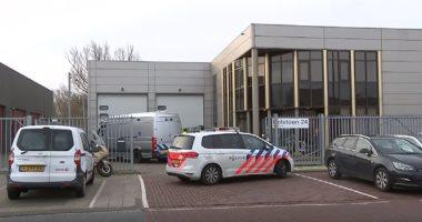 شاهد.. الشرطة الهولندية تنتشر فى مكتب بريد شهد انفجارا دون إصابات