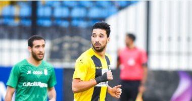 المقاولون يجهز محمد سالم لقيادة الهجوم أمام المصري