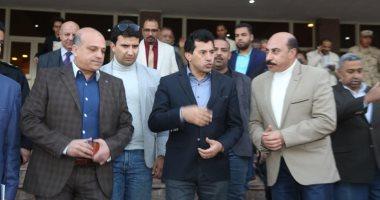 وزير الرياضة يوجه بضم كل مراكز التعليم المدنى للإدارة المركزية للمدن الشبابية