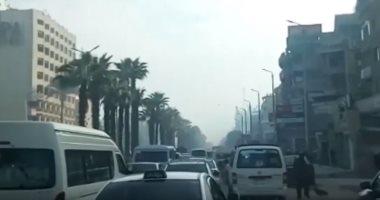 المرور يعيد فتح شارع الهرم بعد الانتهاء من نقل مرافق المترو