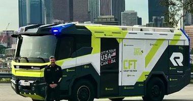 إدارة الإطفاء الأمريكية تستعين بمحرك إطفاء كهربائى بحلول 2021