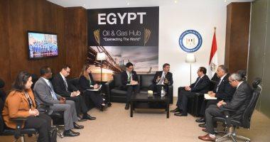 وزير البترول يبحث التعاون مع وكالة التجارة الأمريكية بمشروع البنية التحتية