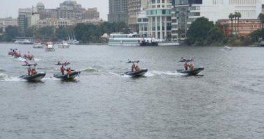 شرطة المسطحات تضبط 5 قضايا إلقاء مخلفات فى نهر النيل