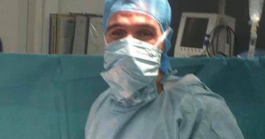 جراحة نادرة لاستئصال ورم سرطانى بفص الكبد لمريض بالمستشفى التعليمى بطنطا