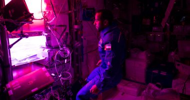 هزاع المنصوري يكشف عن فكرة عمل جهاز إنتاج الخضراوات بمحطة الفضاء الدولية