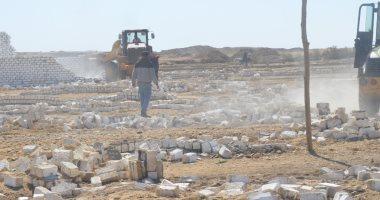 إزالة 458 حالة تعد على أراضى أملاك الدولة ببنى سويف