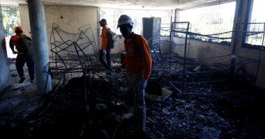 صور.. مصرع 13 طفلًا بينهم رضع فى حريق بدار أيتام فى هايتى