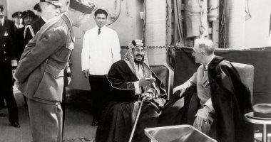 """وزير خارجية السعودية يشارك فى حفل الذكرى 75 للقاء الملك عبدالعزيز و""""روزفلت"""""""