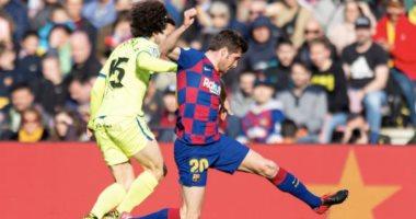 """برشلونة ضد خيتافى.. البارسا يضيف الثانى فى الدقيقة 40 عن طريق روبيرتو """"فيديو"""""""