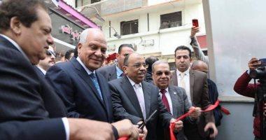 وزير التنمية المحلية ومحافظ الجيزة يفتتحان أنفاق مشاة الميدان بحضور أبو العينين
