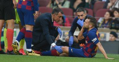 تقارير.. برشلونة يفتقد جوردى ألبا فى موقعة الكلاسيكو للإصابة