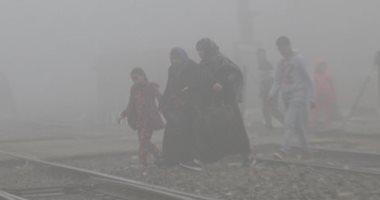 شبورة مائية على القاهرة والجيزة تتسبب فى ضعف الرؤية