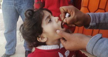 صحة القليوبية  تعلن تطعيم 99.8% من المستهدفين بحملة التطعيم ضد شلل الأطفال -