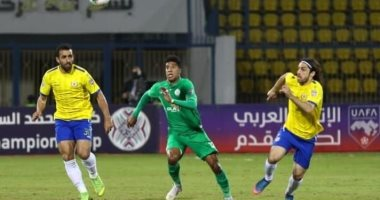 """فيديو.. الإسماعيلى يهزم الرجاء بهدف """"فخر""""  فى ذهاب نصف نهائى البطولة العربية"""