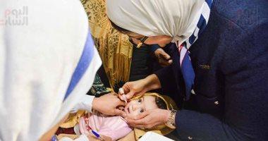 الصحة تواصل حملتها للتطعيم ضد شلل الأطفال بالمجان لليوم الرابع على التوالى