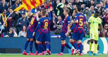 برشلونة ضد خيتافي.. البارسا يحقق 14 انتصارا بفارق هدف وحيد