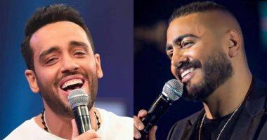 تامر حسنى مهنئا رامى جمال على ألبومه الجديد: شغل محترم