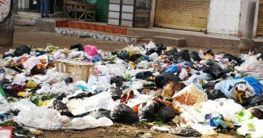 سيبها علينا.. شكوى من انتشار القمامة بقرية اريمون بكفر الشيخ
