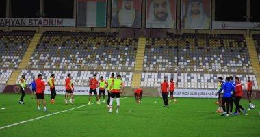 صور.. أول تدريب للأهلى فى الإمارات استعدادا لمواجهة الزمالك بالسوبر