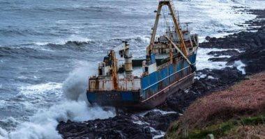 """""""سفينة أشباح"""" تتحرك من تنزانيا لأيرلندا بدون طاقم"""