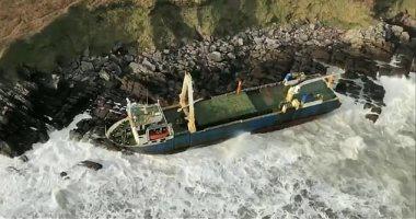 سفينة تقطع آلاف الأميال بدون طاقم وتظهر على سواحل أيرلندا.. اعرف القصة
