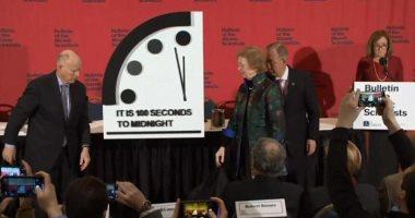 """علماء ذرة: تقديم """"ساعة القيامة"""" 100 ثانية ونهاية العالم تقترب"""