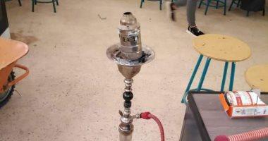 إحالة 4 موظفين للتحقيق بمدرسة فى أكتوبر بسبب تدخين الشيشة فى الفصل