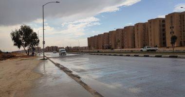 توقعات بسقوط أمطار خفيفة اليوم على السواحل الشمالية قد تصل إلى القاهرة