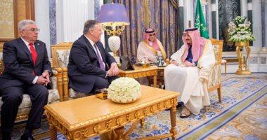 العاهل السعودى يستقبل وزير الخارجية الأمريكى لبحث عدد من ملفات المنطقة
