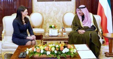 وزيرة التعاون الدولى لرئيس الوزراء الكويتى: نتطلع لتعميق الشراكة الاقتصادية